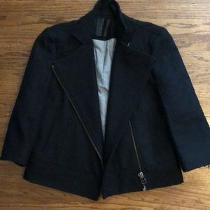 Urban outfitters cropped black blazer